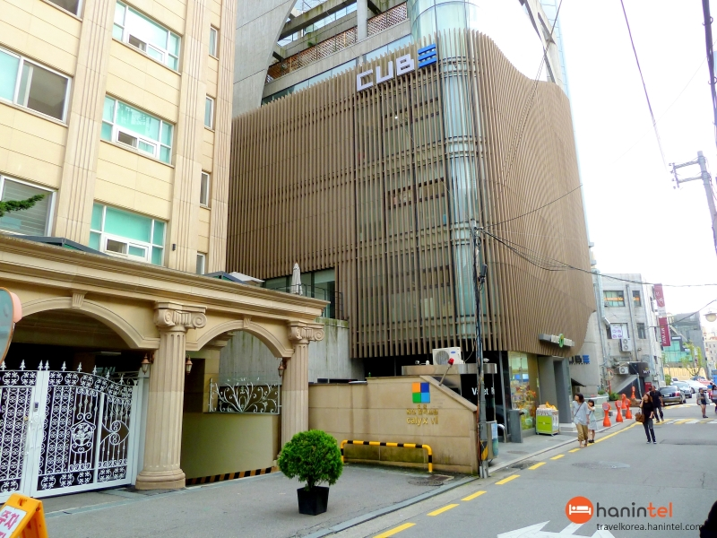 cube entertainment building