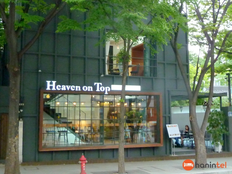 heaven on top cafe